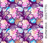 sweet classic floral print  ...   Shutterstock .eps vector #310177751