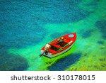 Fishing Boat In Kefalonia...