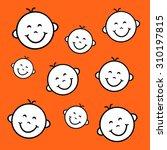 happy smiles | Shutterstock . vector #310197815