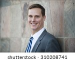portrait of a businessman | Shutterstock . vector #310208741
