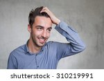 smiling young business man   Shutterstock . vector #310219991