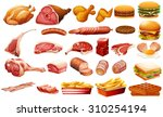 Different Kind Of Meat And Food ...