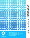 abstract design of brochure... | Shutterstock .eps vector #31026268