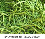 Pile Of Fresh Green Bean...