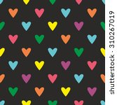 Tile Vector Pattern With Heart...