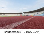 running track close up.... | Shutterstock . vector #310272644