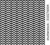 seamless pattern of zigzag... | Shutterstock .eps vector #310276004