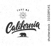 """take me to california"" vintage ... 