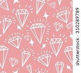 vector geometric hand drawn... | Shutterstock .eps vector #310289789