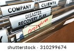 close up on a file tab with the ... | Shutterstock . vector #310299674