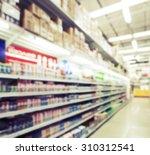 blurred image of lighting... | Shutterstock . vector #310312541