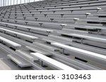 Bleachers In A Stadium