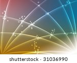 blue yellow red background... | Shutterstock . vector #31036990