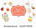 vector collection of labels and ... | Shutterstock .eps vector #310374905