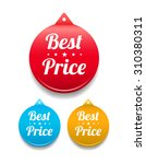 best price round tag | Shutterstock .eps vector #310380311