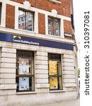 Small photo of LEEDS, UK - 6 AUGUST 2015. Leeds Building Society offices on Albion Street in Leeds