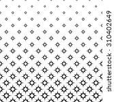 seamless monochrome star pattern | Shutterstock .eps vector #310402649