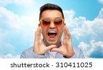 summer  emotions  communication ... | Shutterstock . vector #310411025