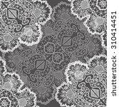 openwork pattern seamless   | Shutterstock . vector #310414451