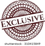 exclusive rubber grunge seal | Shutterstock .eps vector #310415849