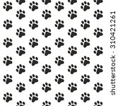 seamless pattern of animal... | Shutterstock .eps vector #310421261