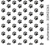 seamless pattern of animal... | Shutterstock .eps vector #310421261
