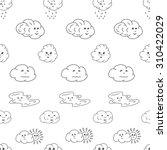 doodle vector illustration... | Shutterstock .eps vector #310422029
