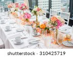 Elegant Wedding Reception Tabl...