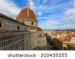 Florence Cathedral From Giotto...