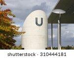 Small photo of BERLIN, GERMANY - SEPTEMBER 23, 2011: U-bahn ventilation air shaft in Berlin.