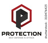 security company logo ready to... | Shutterstock .eps vector #310476425