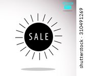 sale | Shutterstock .eps vector #310491269