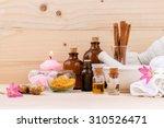 natural spa ingredients...   Shutterstock . vector #310526471