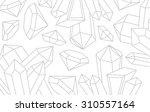 precious stones  background... | Shutterstock .eps vector #310557164