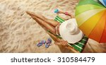 vacation. travel. beautiful... | Shutterstock . vector #310584479