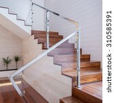 Image Of Stylish Staircase In...