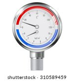 Manometer And Thermometer....