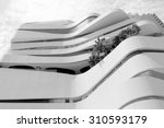 modern building in capital city ... | Shutterstock . vector #310593179