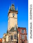 prague  czech republic. old... | Shutterstock . vector #310594211