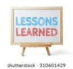 Whiteboard With Text Lessons...