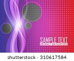 color abstract background | Shutterstock .eps vector #310617584