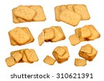 isolated eight  shots of the... | Shutterstock . vector #310621391