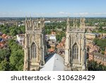 View Of Church Spires And The...