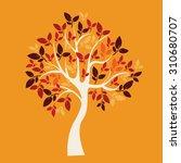 vector tree   Shutterstock .eps vector #310680707