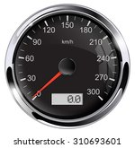 speedometer. vector isolated | Shutterstock .eps vector #310693601