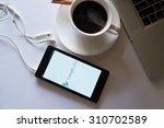 xiaomi note show screen google... | Shutterstock . vector #310702589
