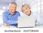 senior adult. | Shutterstock . vector #310728344