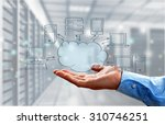 cloud. | Shutterstock . vector #310746251