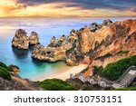 the beautiful camilo beach in... | Shutterstock . vector #310753151