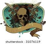 skull pirate   Shutterstock .eps vector #31076119